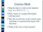 curious math3