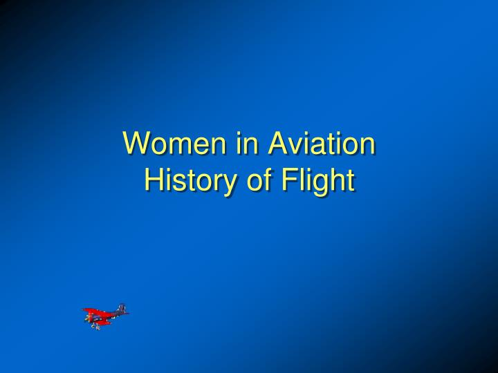 women in aviation history of flight n.