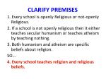 clarify premises