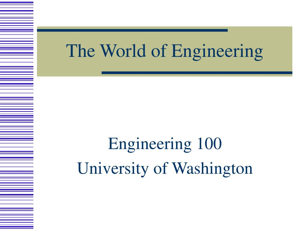 the world of engineering l.