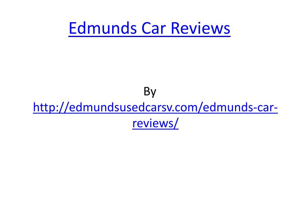 edmunds car reviews l.