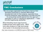 tmc conclusions