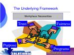 the underlying framework