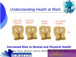 understanding health at work22