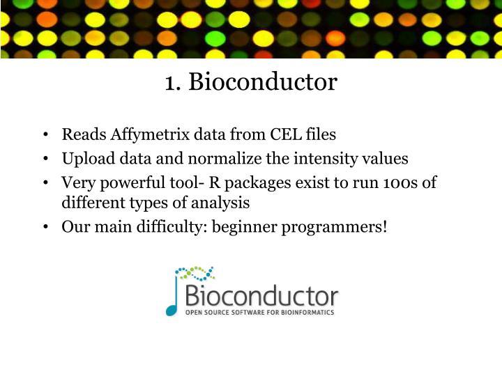 1 bioconductor