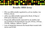 results brb array
