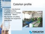 colorlon profile