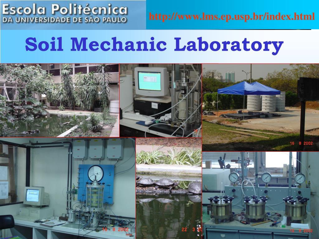 soil mechanic laboratory l.