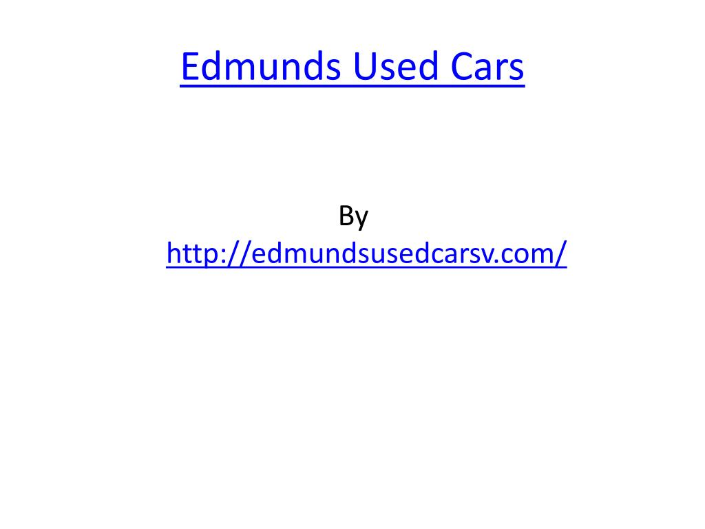 edmunds used cars l.
