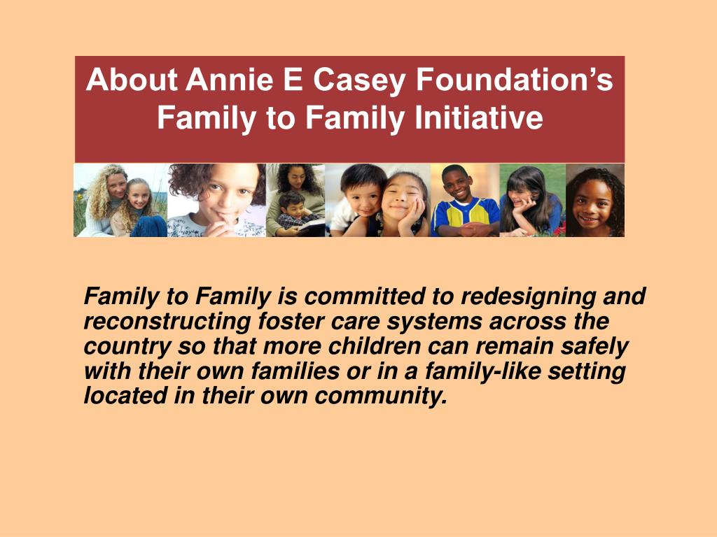 About Annie E Casey Foundation's