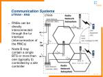 communication systems utran rns