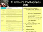 5 collecting psychographic data