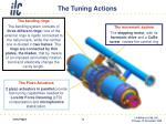 the tuning actions