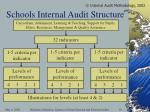 schools internal audit structure