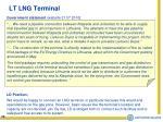 lt lng terminal