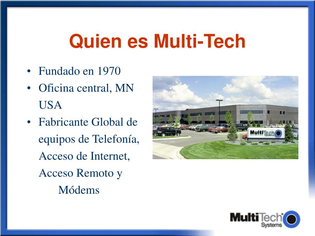 quien es multi tech l.