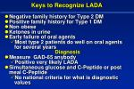 keys to recognize lada