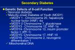 secondary diabetes26