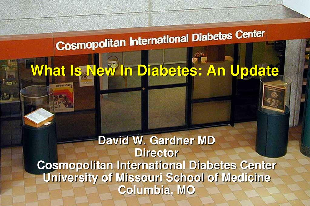 what is new in diabetes an update l.
