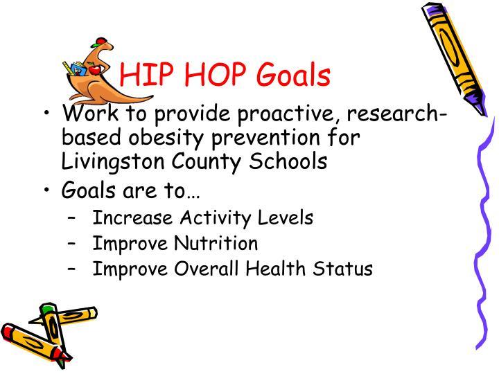 HIP HOP Goals
