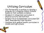 utilizing curriculum