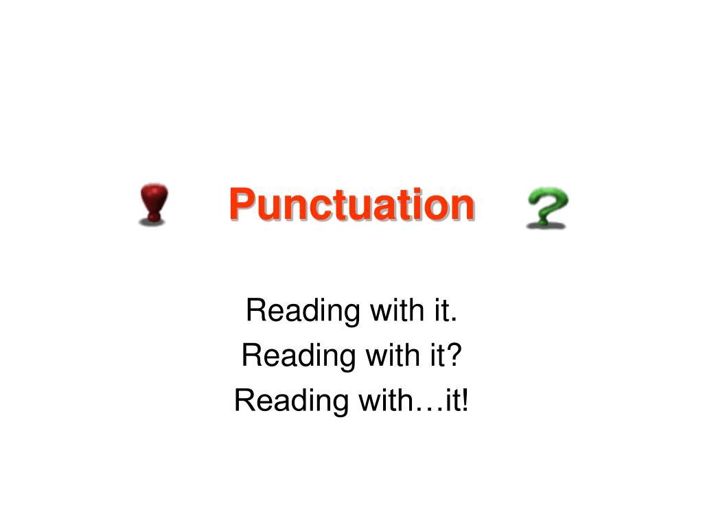 punctuation l.