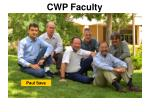 cwp faculty1