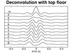 deconvolution with top floor