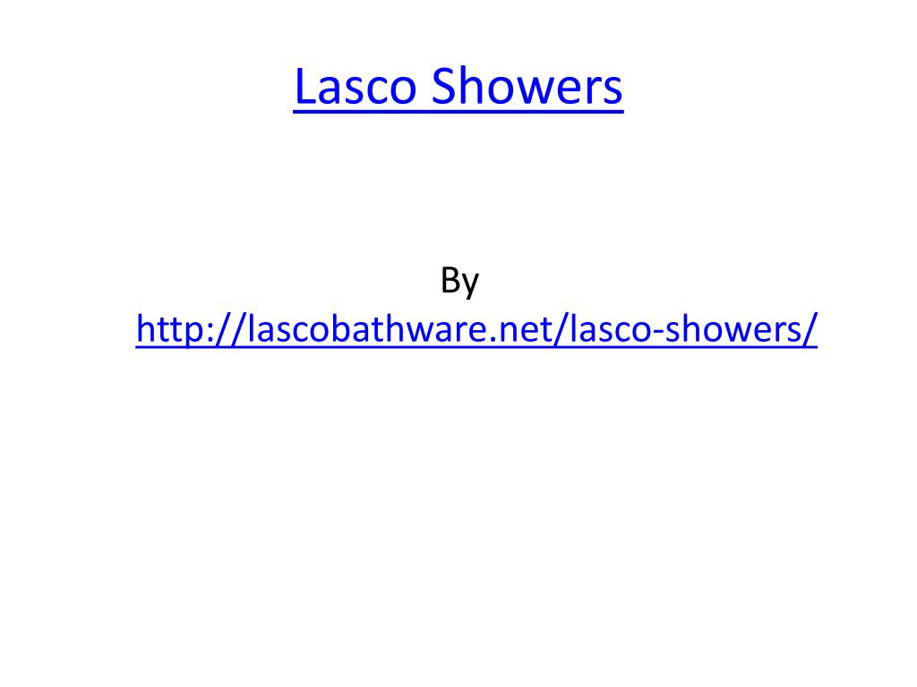 lasco showers l.
