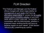 flm direction
