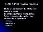 flms psd review process