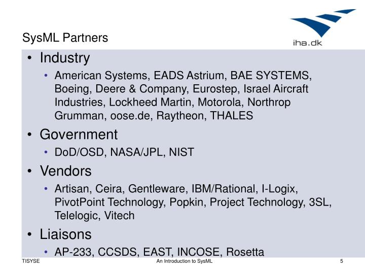 SysML Partners