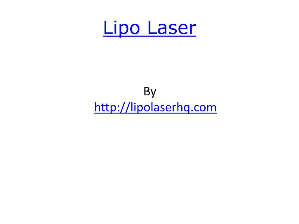 lipo laser l.