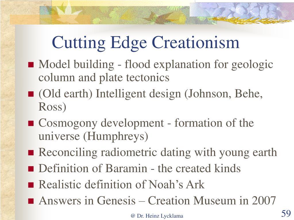 Cutting Edge Creationism