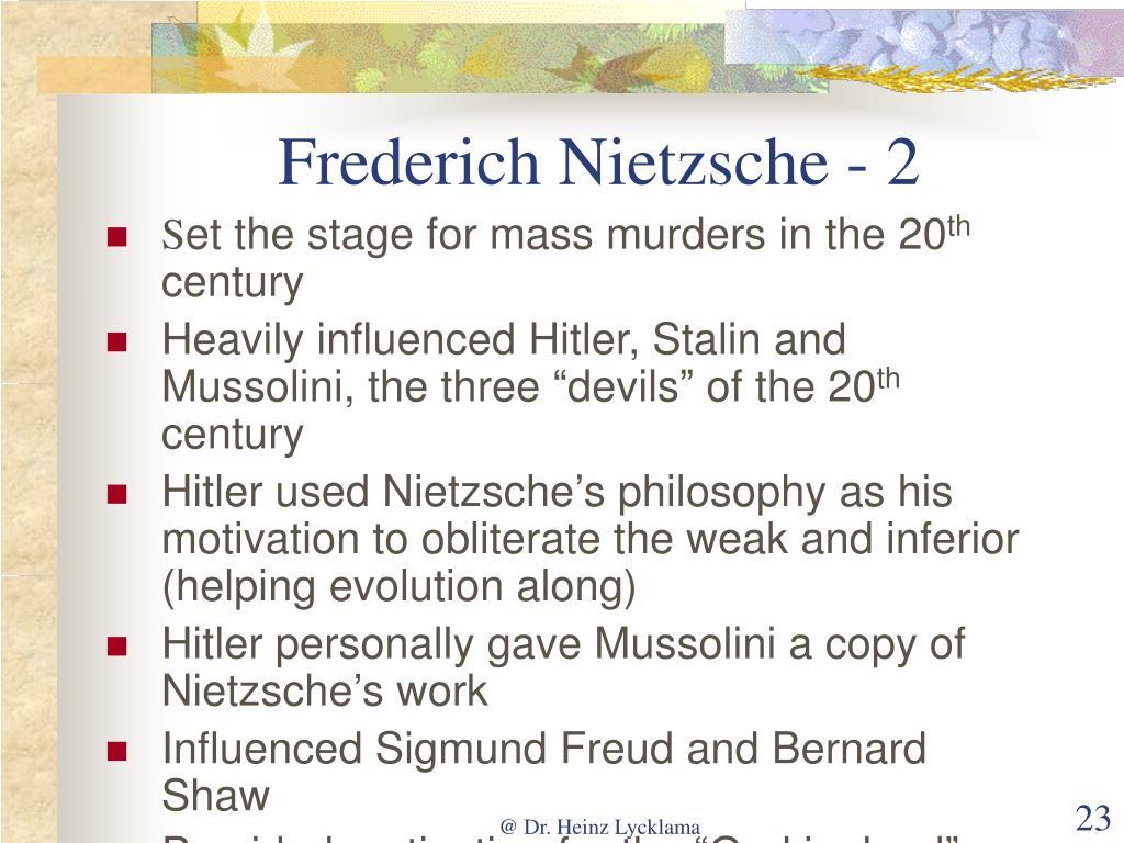 Frederich Nietzsche - 2