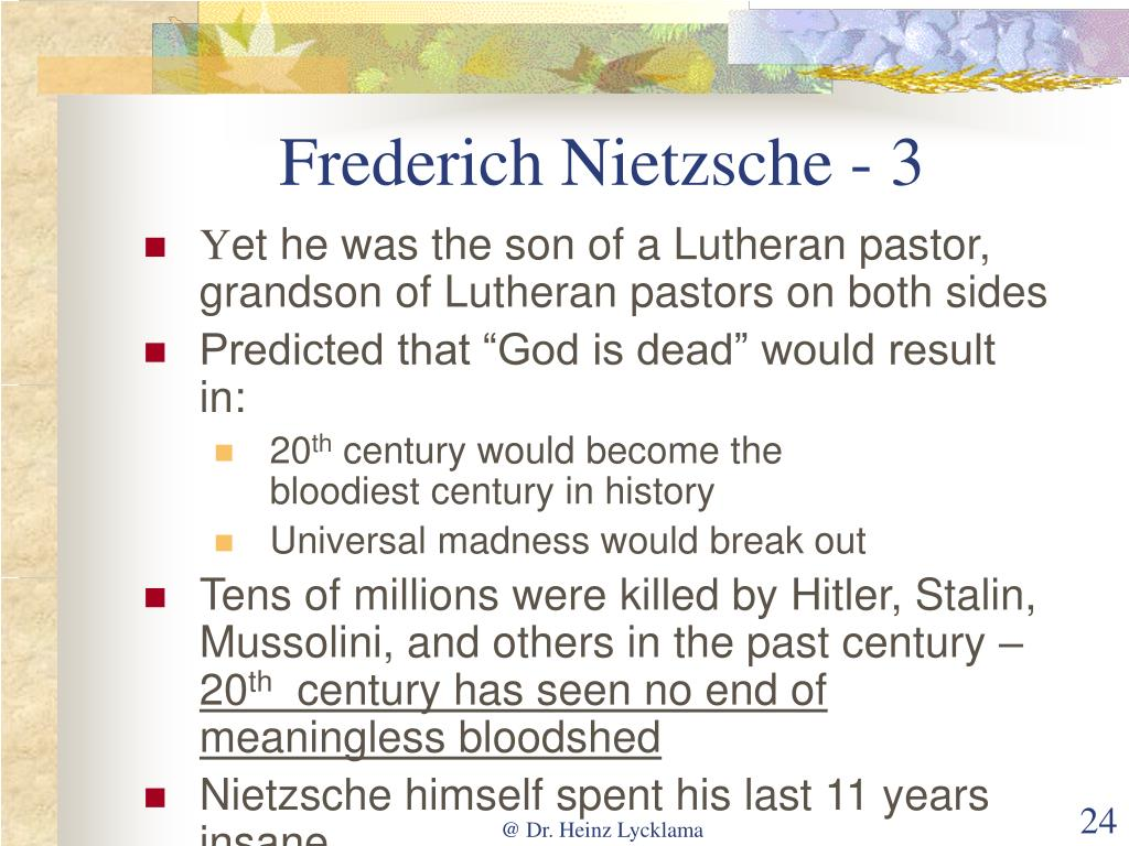 Frederich Nietzsche - 3