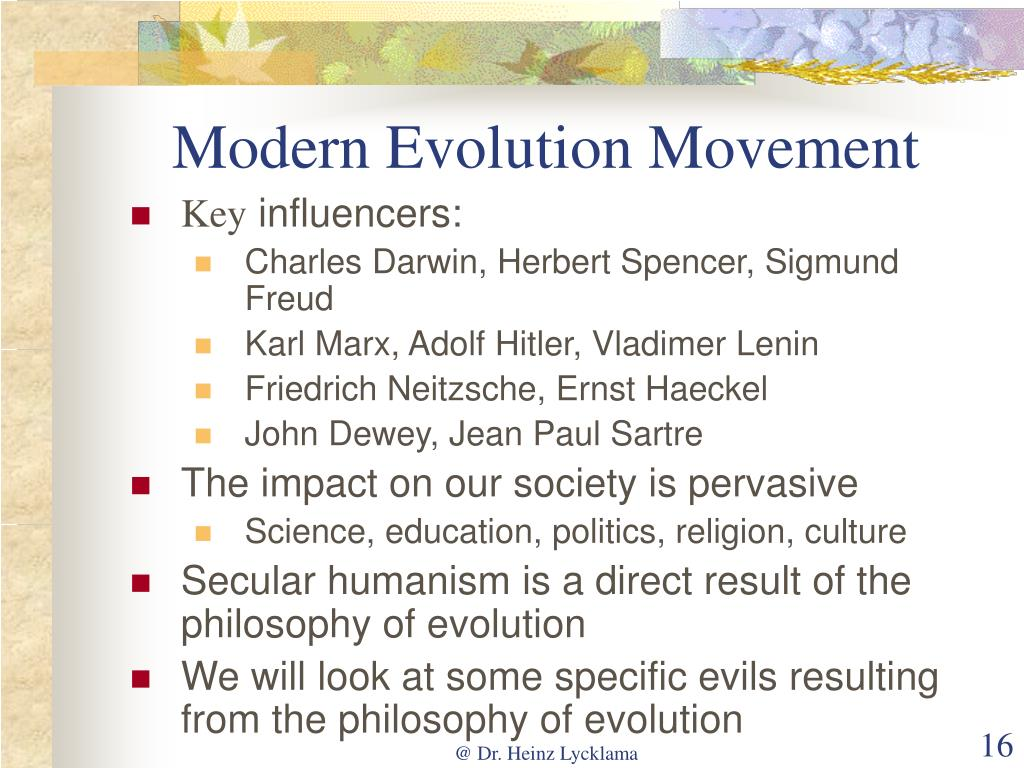 Modern Evolution Movement