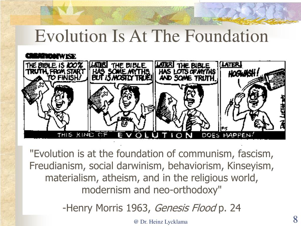 Evolution Is At The Foundation