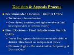 decision appeals process