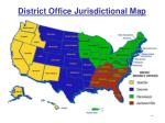 district office jurisdictional map