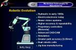 robotic evolution