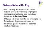 sistema natural dr eng