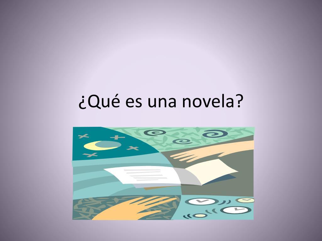 qu es una novela l.