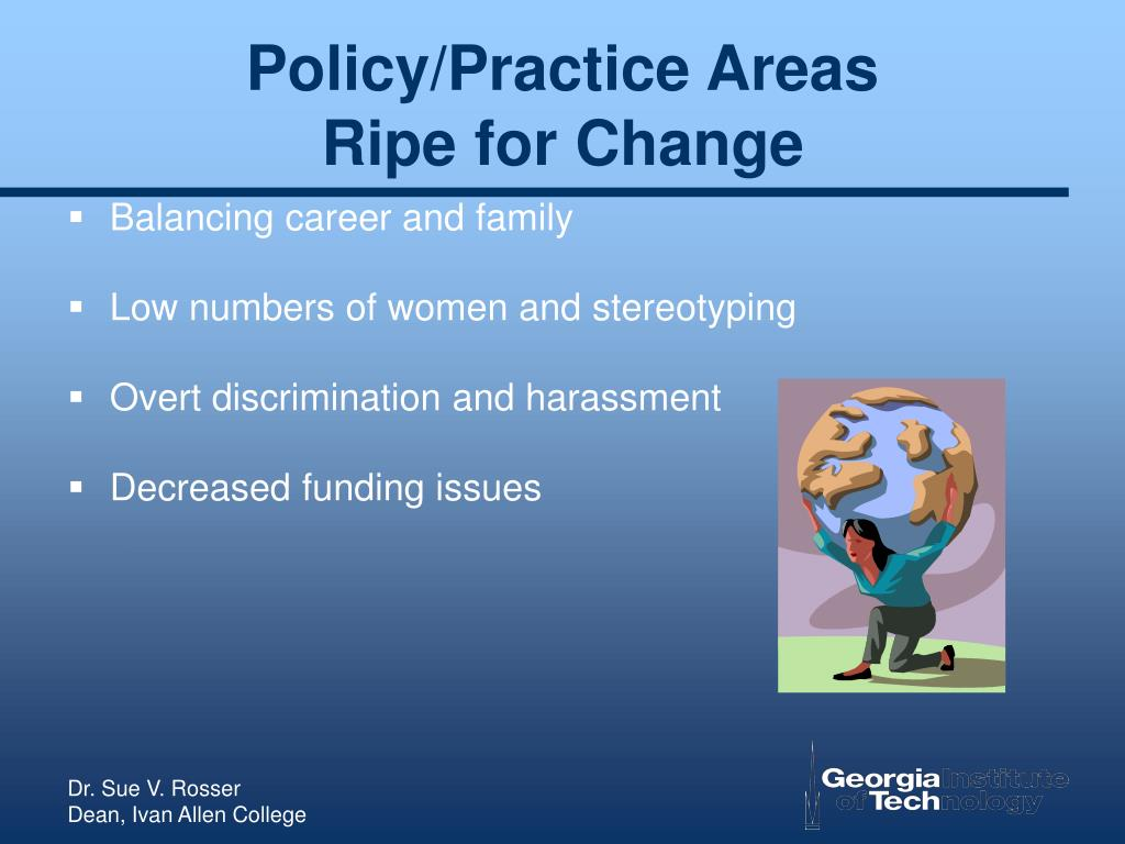 Policy/Practice Areas