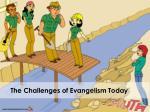 the challenges of evangelism today