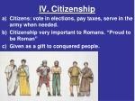 iv citizenship