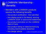 l on m ark membership benefits18