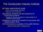 the construction industry institute