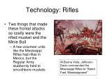 technology rifles