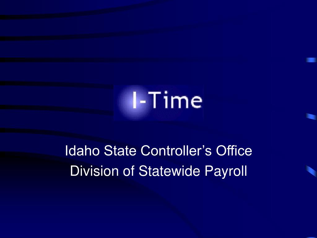 idaho state controller s office division of statewide payroll l.
